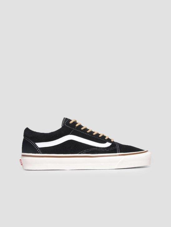 Vans Old Skool 36 DX Anaheim OG Black Suede Corduroy VN0A38G2UPG1