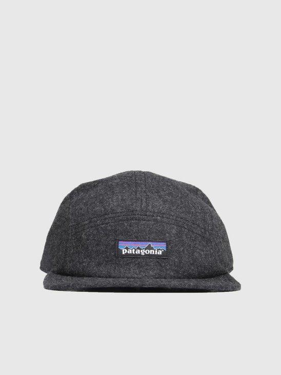 Patagonia Recycled Wool Cap Forge Grey 22320
