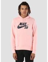 Nike Nike SB Icon Hoodie Storm Pink Obsidian Aj9733-646