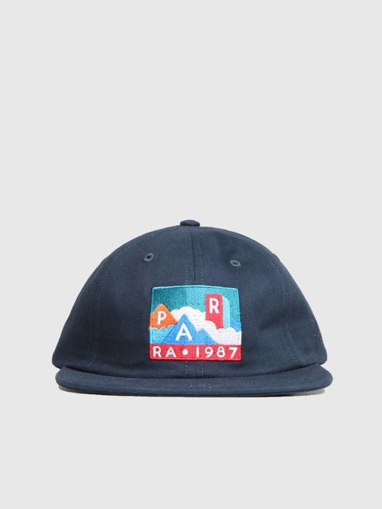 By Parra Mountains Of 1987 6 Panel Hat Navy Blue 41980