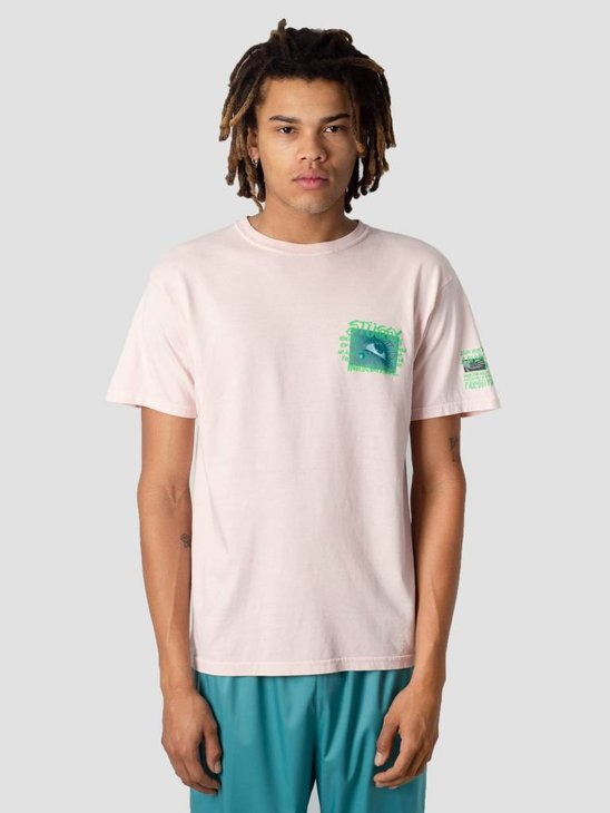 Stussy Stone Love Pig. Dyed T-Shirt Blush 1232
