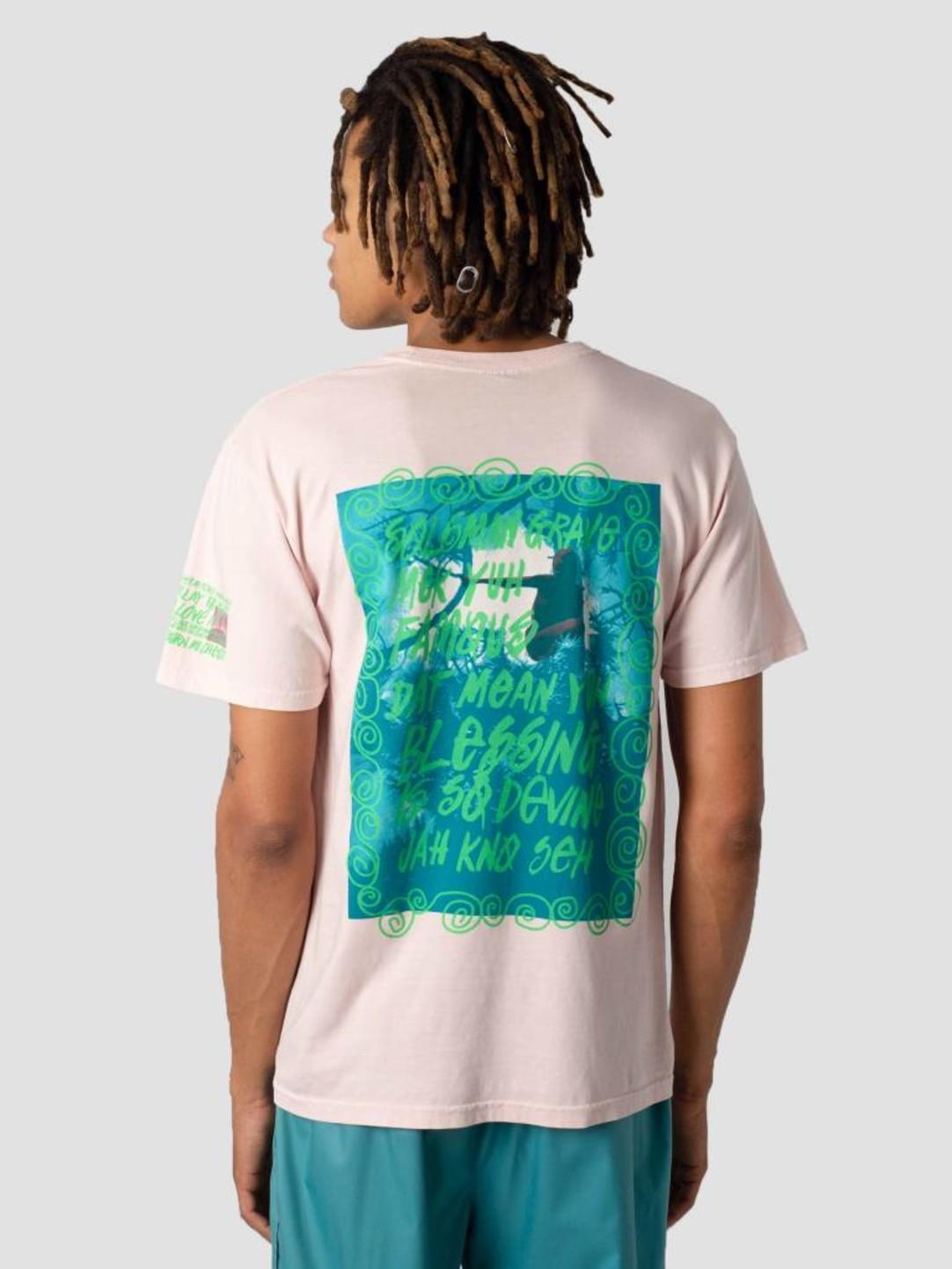 Stussy Stussy Stone Love Pig. Dyed T-Shirt Blush 1232