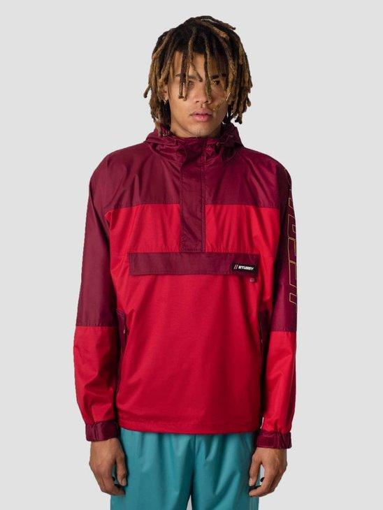 Stussy Alpine Pullover Jacket Red 0601