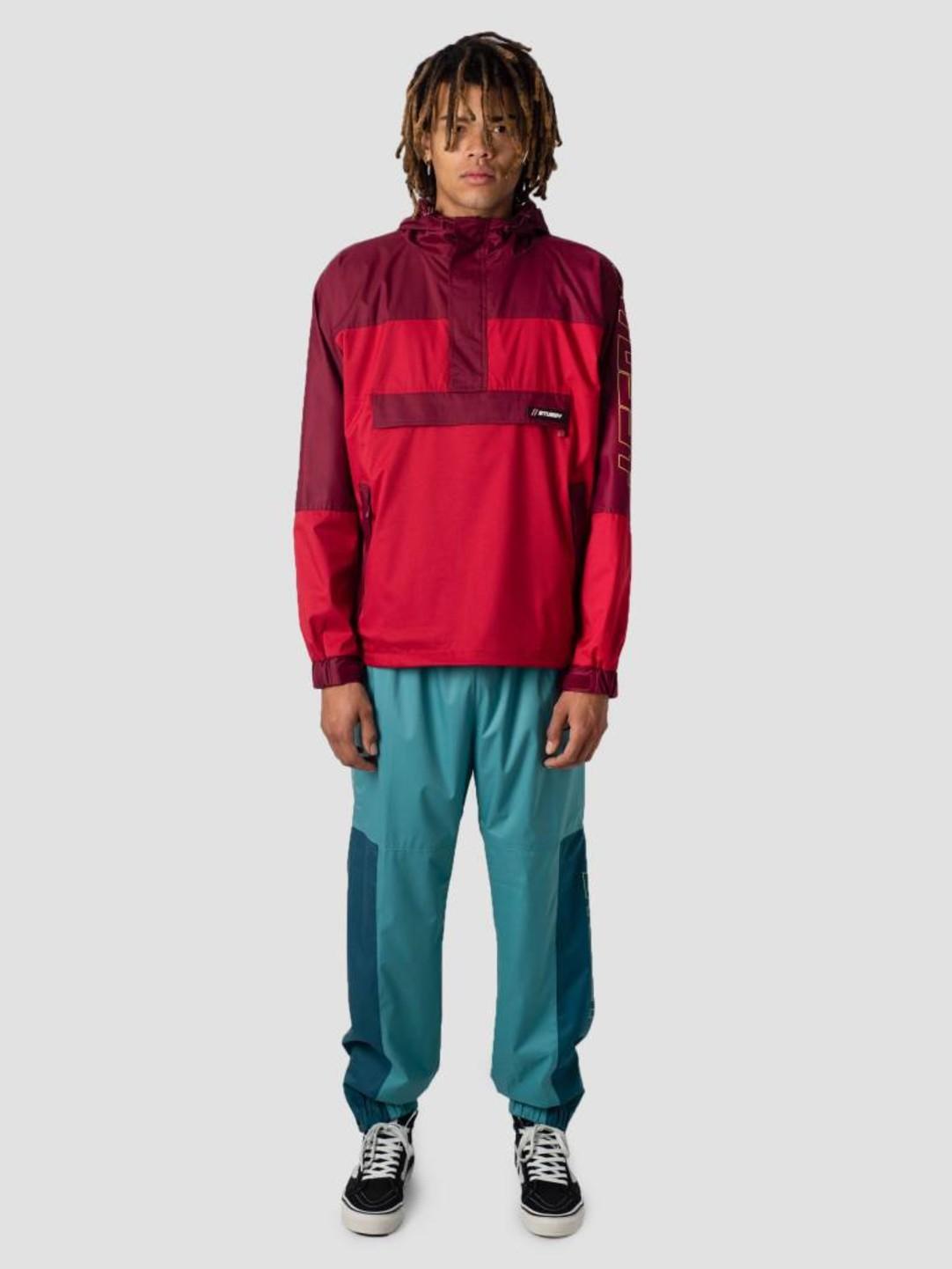 Stussy Stussy Alpine Pullover Jacket Red 0601