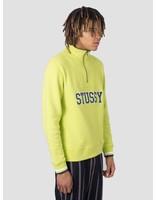 Stussy Stussy Contrast Rib Mock Neck Crew Lime 0412