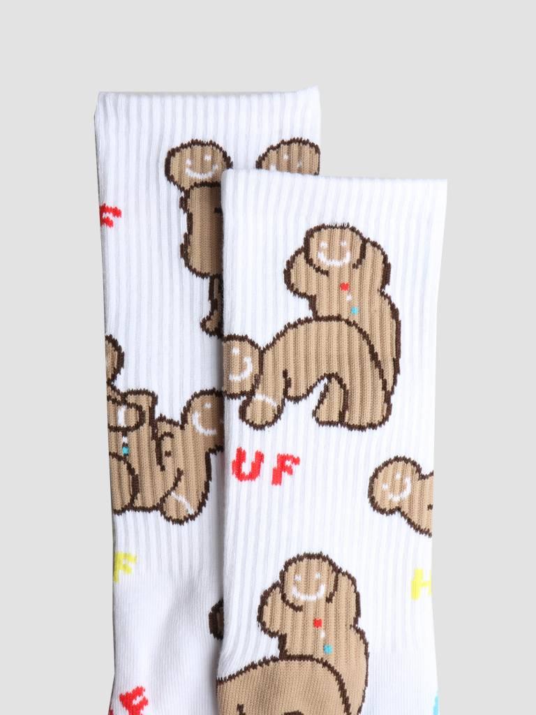 HUF HUF Ginger Love Socks White Sk00328