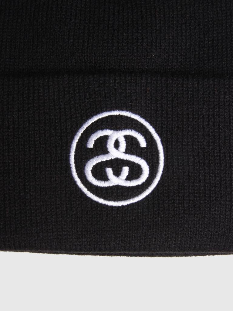 Stussy Stussy Ho18 Ss-Link Cuff Beanie Black 0001