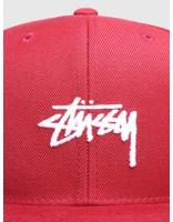 Stussy Stussy Ho18 Stock Cap Cherry 0646