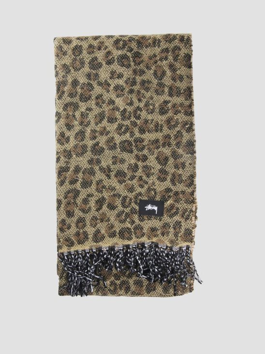 Stussy Ho18 Double Faced Wool Scarf Accessories Brown 1001
