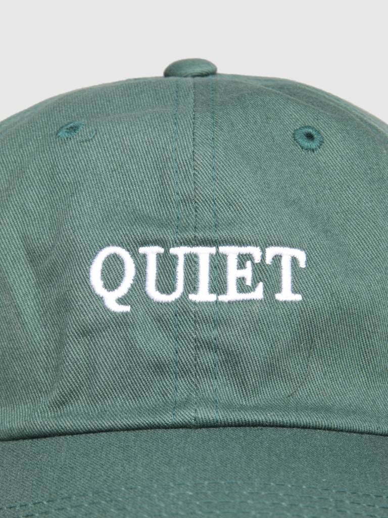 The Quiet Life The Quiet Life Bodoni Dad Hat Forest Green 18FAD2-2214-GRN