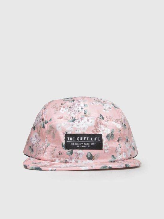 The Quiet Life Liberty Floral 5 Panel Camper Hat Pink 18FAD2-2192-PNK