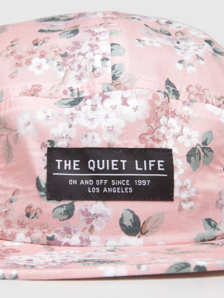 The Quiet Life The Quiet Life Liberty Floral 5 Panel Camper Hat Pink 18FAD2-2192-PNK