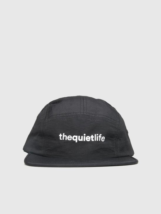 The Quiet Life Origin 5 Panel Camper Hat Black 18FAD2-2195-BLK