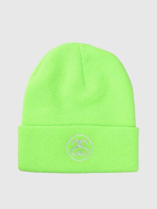 Stussy Ho18 Ss-Link Cuff Beanie Green 0401