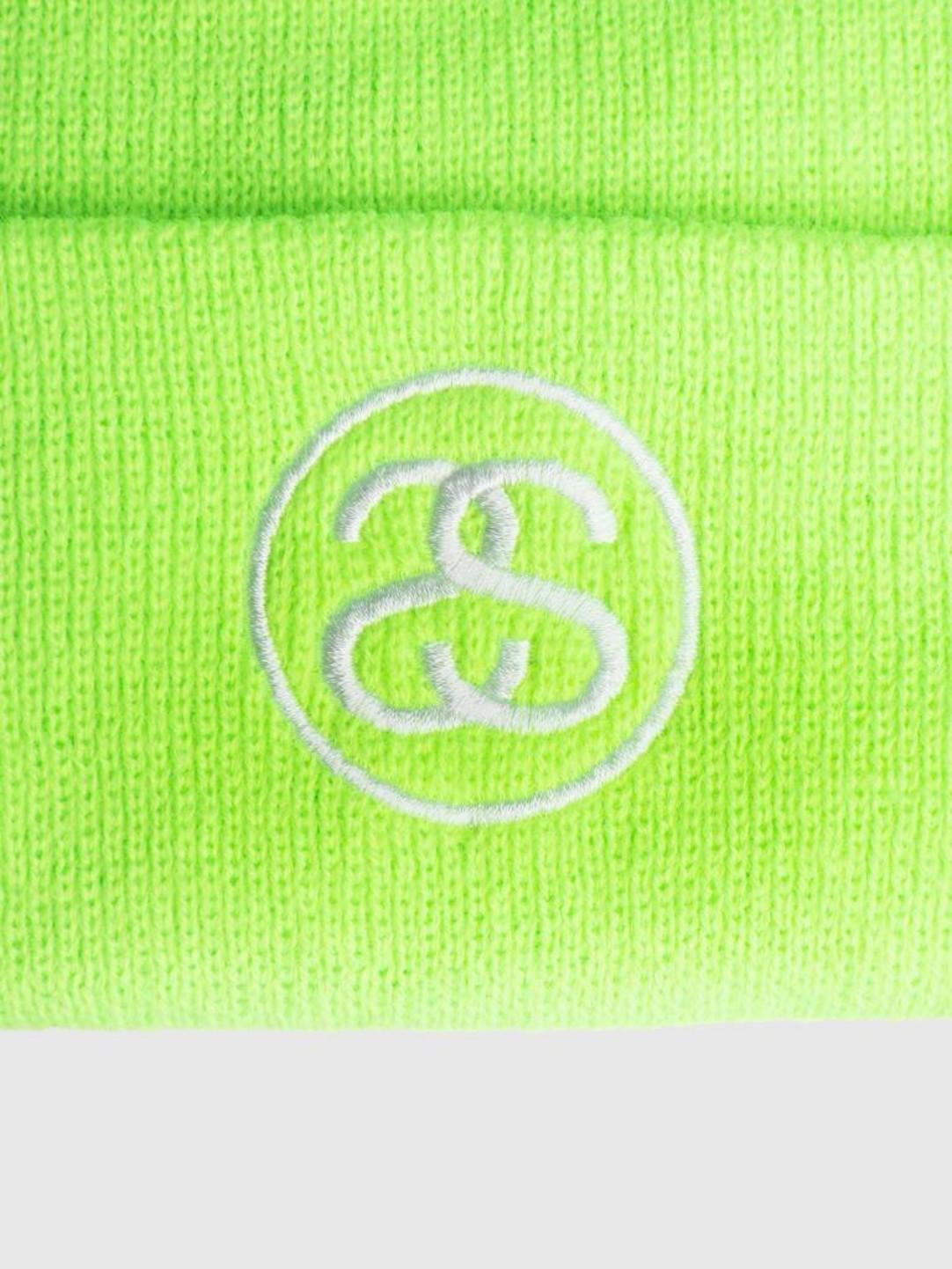 Stussy Stussy Ho18 Ss-Link Cuff Beanie Green 0401