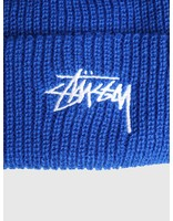 Stussy Stussy Ho18 Stock Cuff Beanie Royal 0807