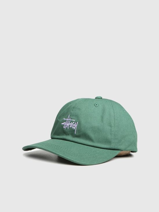 Stussy Ho18 Stock Low Pro Cap Green 0401