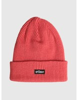 Stussy Stussy Small Patch Watch Cap Beanie Rose 0624
