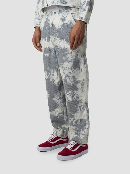 Stussy Hickory Stripe Work Pant Pant Natural 1002