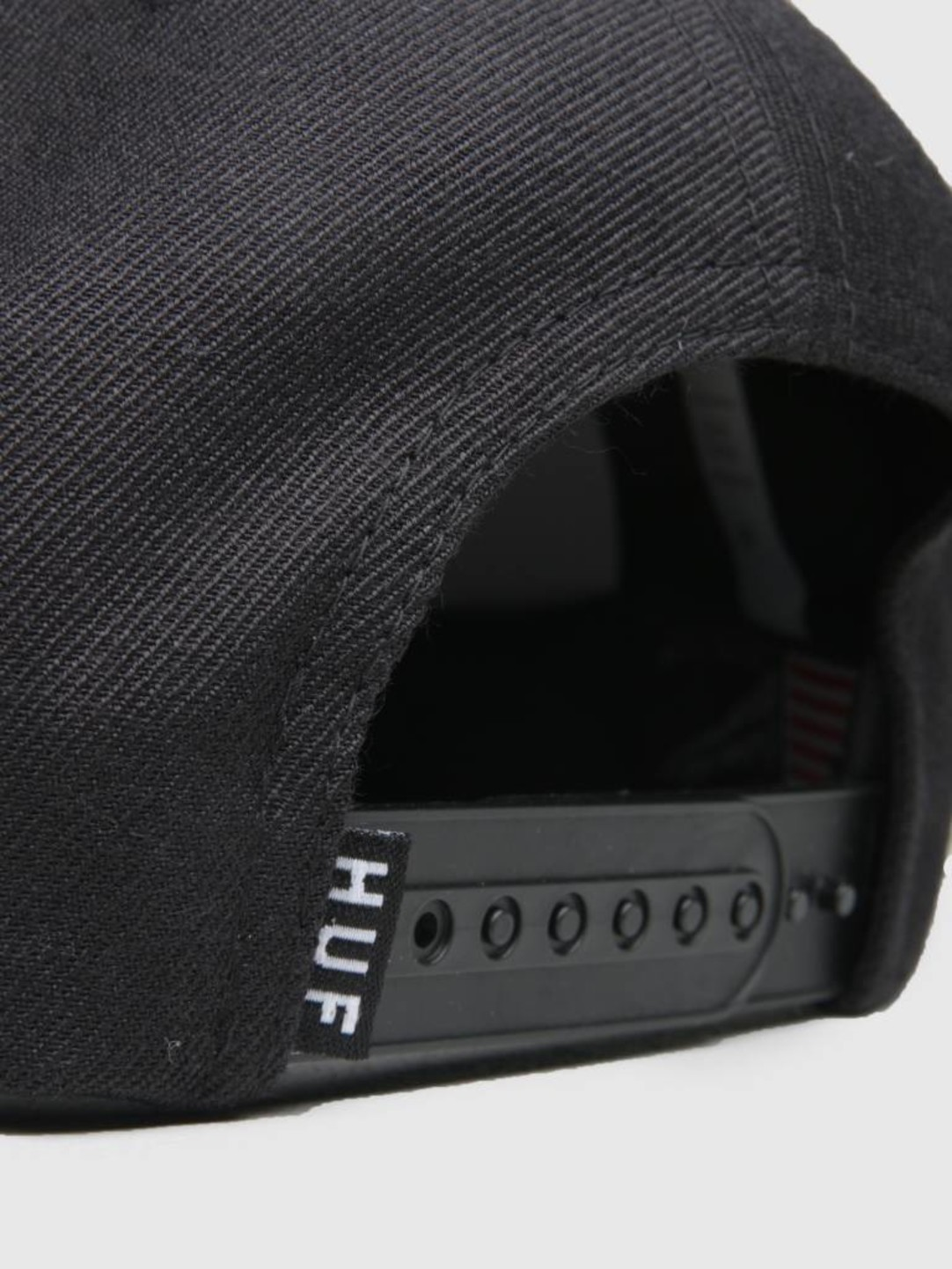 HUF HUF University Snapback Hat Licorice Ht00283
