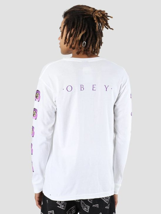 Obey Awakening Longsleeve White 164901867-WHT
