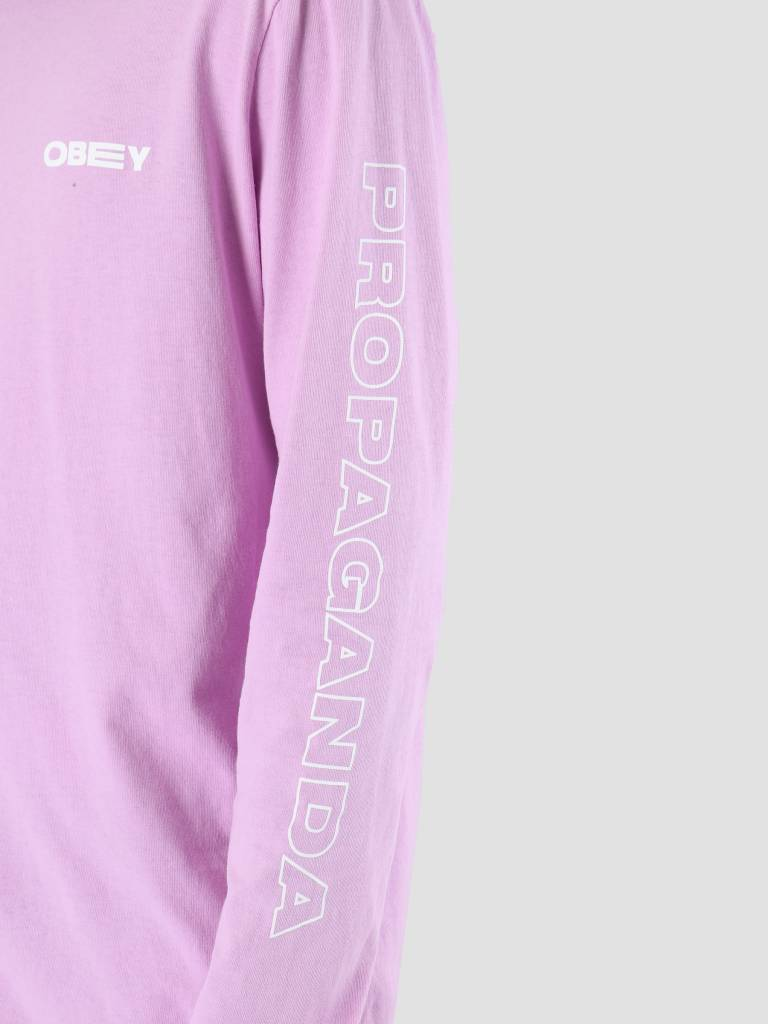 Obey Obey Flower Power Longsleeve Dusty lavender 166731861-LAV