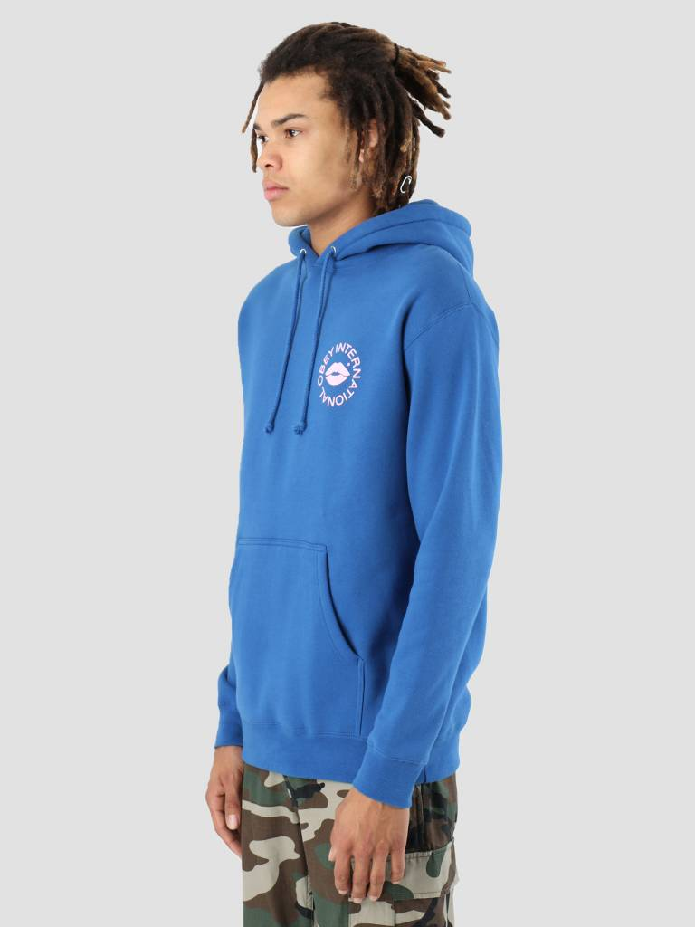Obey Obey Kiss Of OBEY Hoodie Royal blue 111731858-RYL