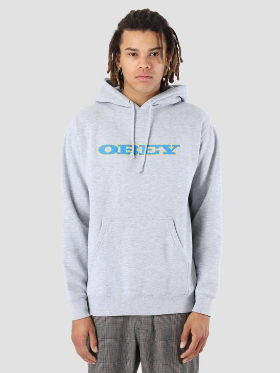 Obey More Of Us Hoodie Heather grey 111731860-HEA
