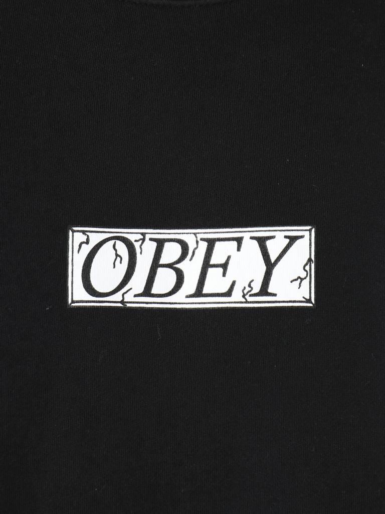 Obey Obey OBEY Philosophy Fleece Crew Dusty black 112691857-DBA