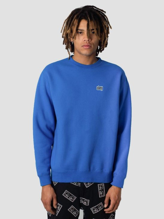 Obey Pulley Crew 112480049S-SKY