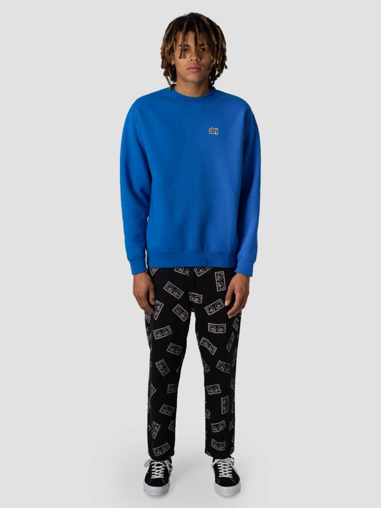 Obey Obey Pulley Crew 112480049S-SKY