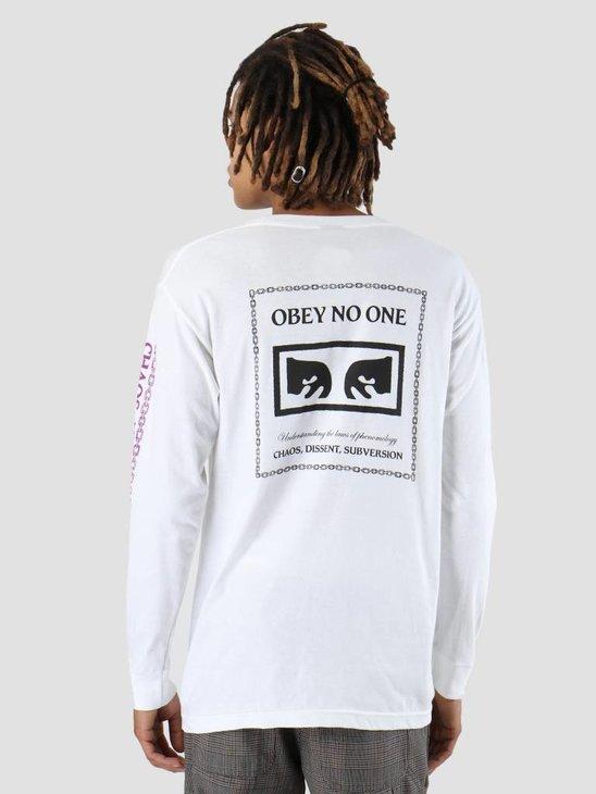 Obey Understanding T-Shirt White 164901859-WHT