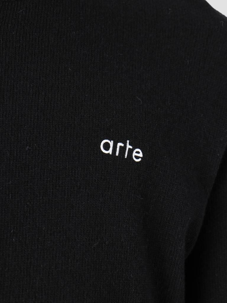 Arte Antwerp Arte Antwerp Kendrick Knitwear Sweater Black AW18-024