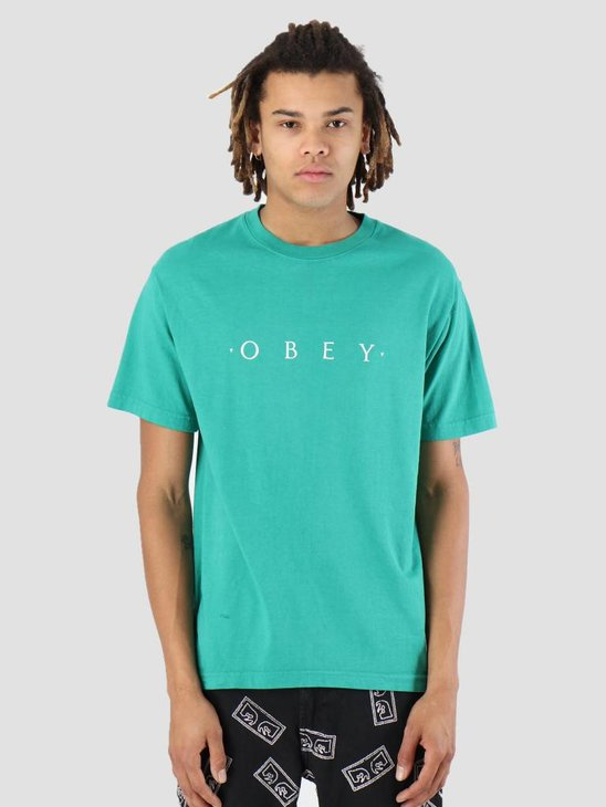 Obey Novel OBEY T-Shirt Emerald 166911578-EME