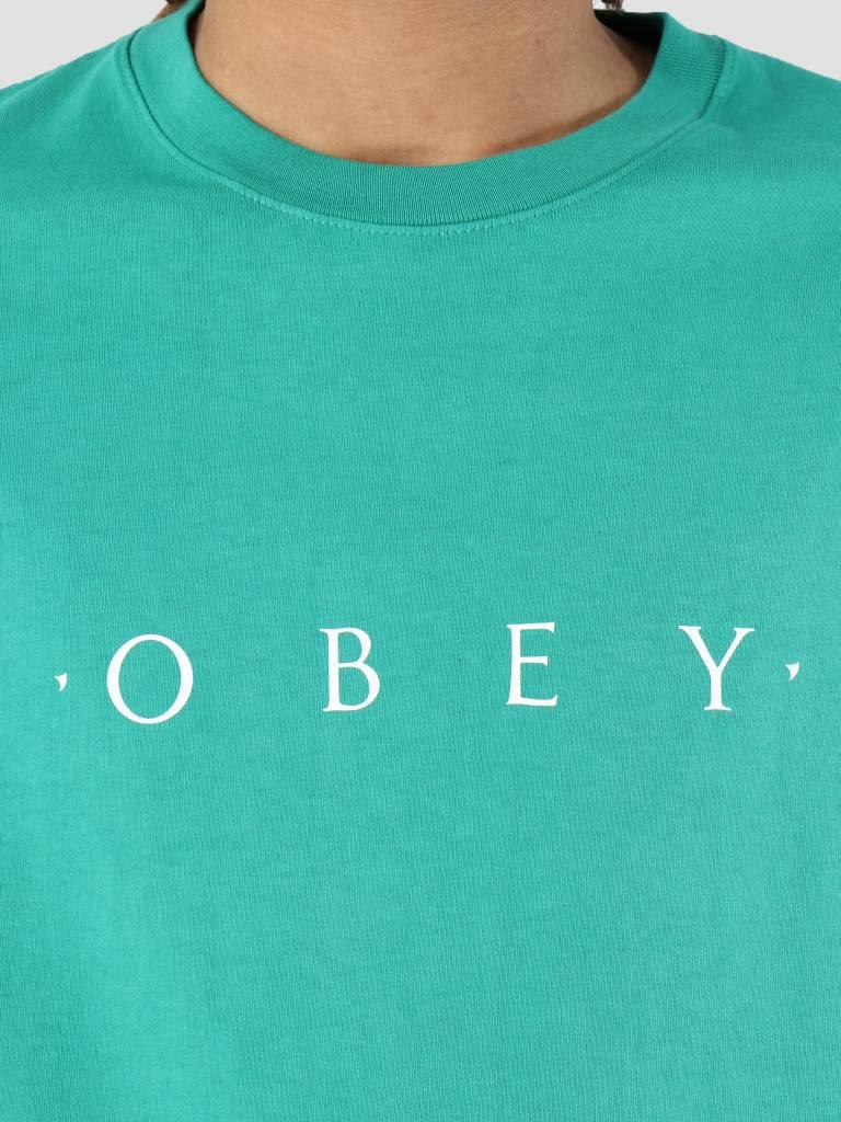 Obey Obey Novel OBEY T-Shirt Emerald 166911578-EME