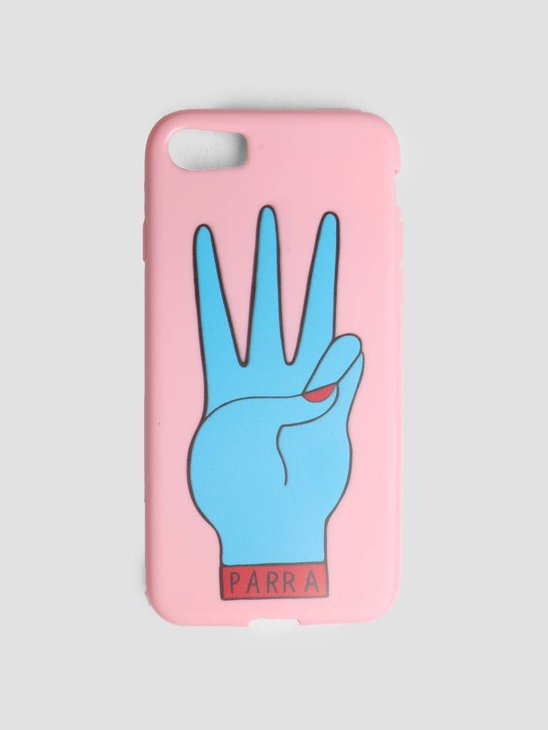 By Parra Iphone Case Third Prize 7 Or 8 Pink Blue 42019