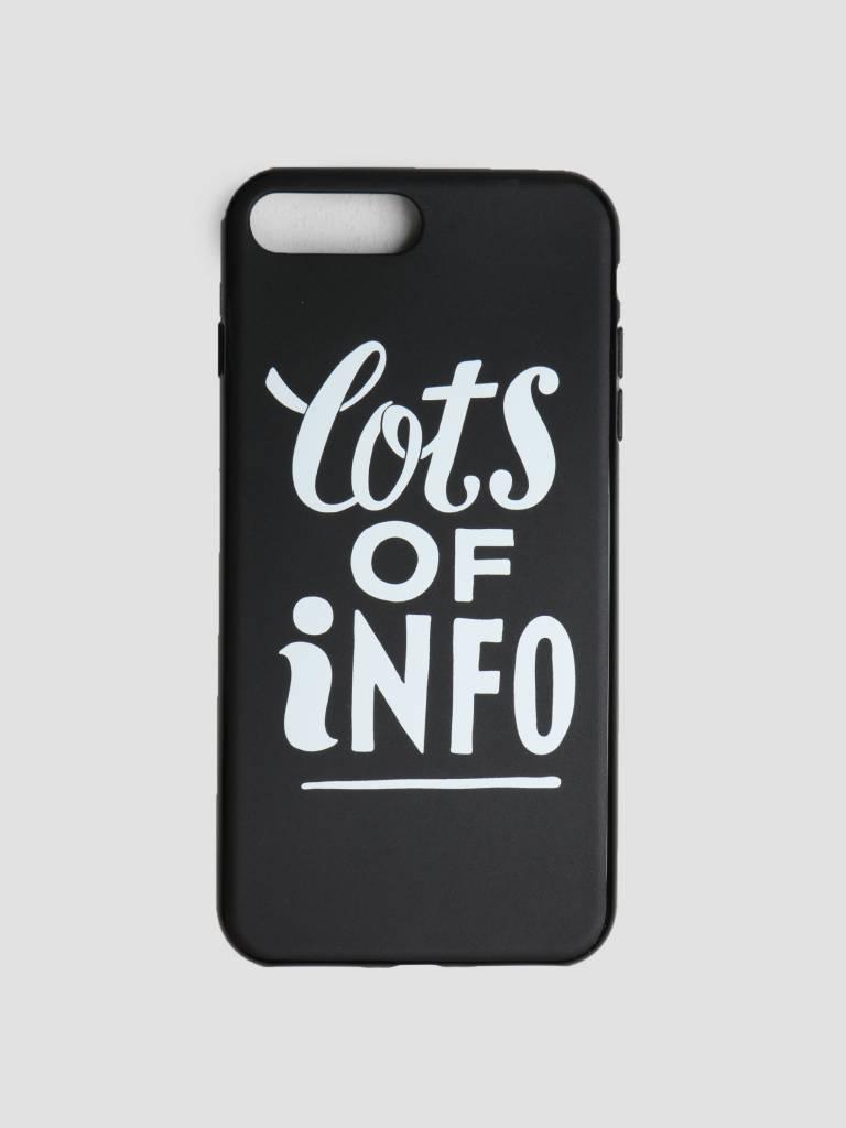 By Parra By Parra Iphone Case Lots Of Info 7 Plus Or 8 Plus Black 42015