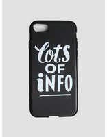 By Parra By Parra Iphone Case Lots Of Info 7 Black 42014