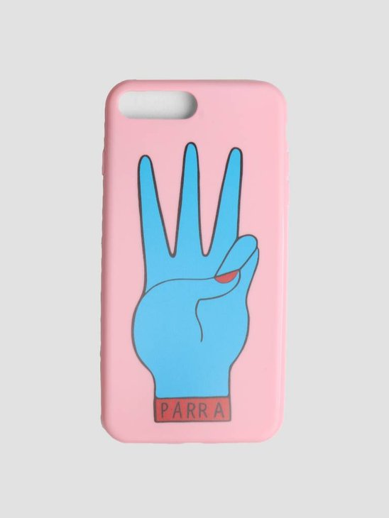 By Parra Iphone Case Third Prize 7 Plus Or 8 Plus Pink Blue 42020