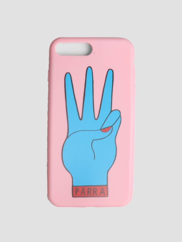 By Parra By Parra Iphone Case Third Prize 7 Plus Or 8 Plus Pink Blue 42020