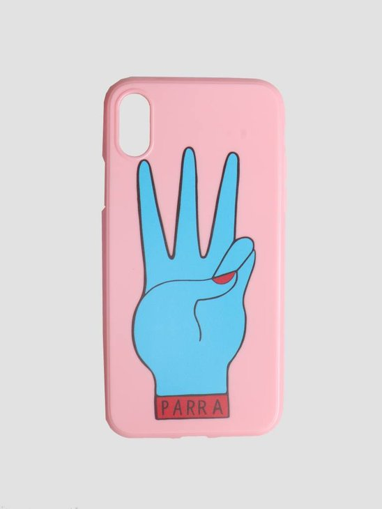 By Parra Iphone Case Third Prize X Pink Blue 42010