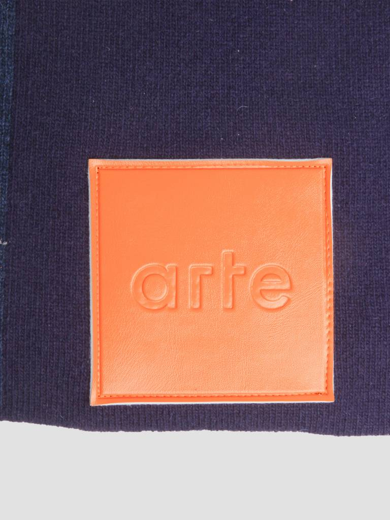 Arte Antwerp Arte Antwerp Akon Knitted Scarf Purple AW18-050