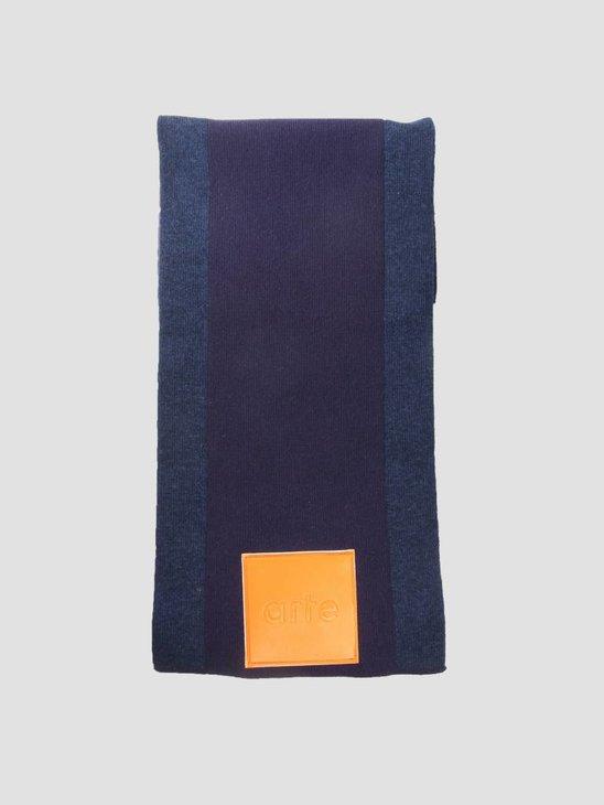 Arte Antwerp Akon Knitted Scarf Purple AW18-050