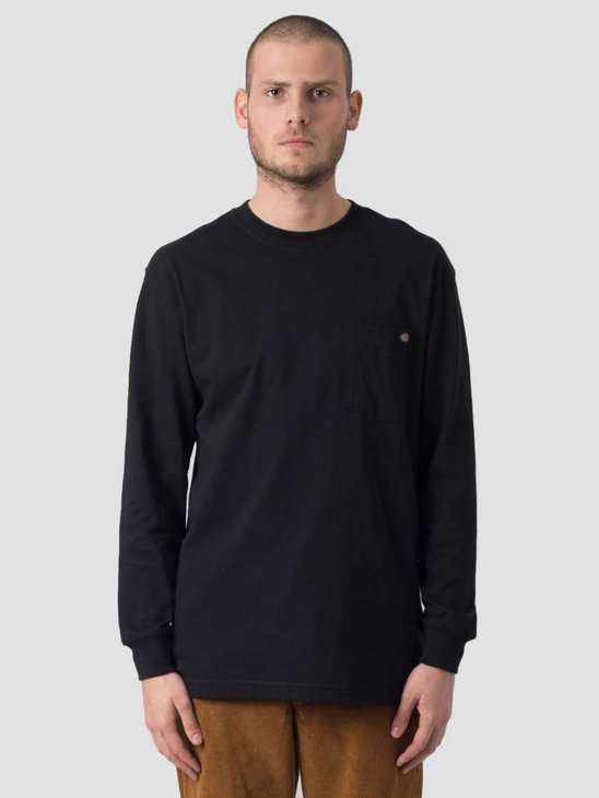Dickies Pocket Longsleeve Black WL450