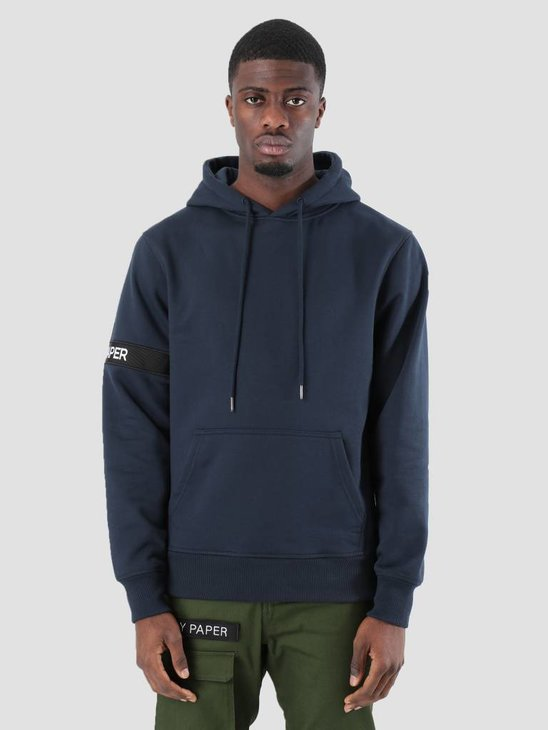 Daily Paper Captain Hoodie Navy NOST05