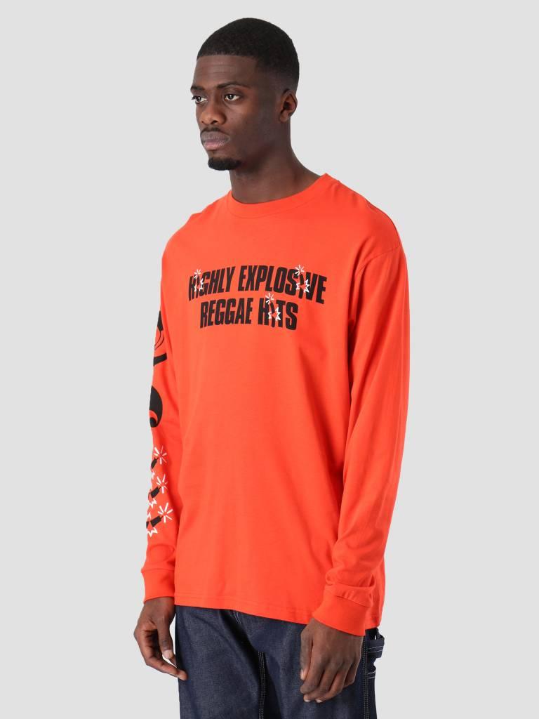 Carhartt Carhartt Longsleeve TROJAN Explosion T-Shirt Trojan Red