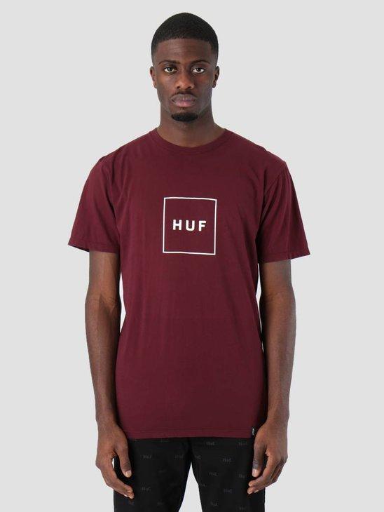 HUF Essentials Box Logo T-Shirt Port Royale Ts00507