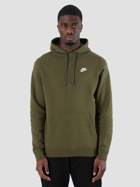 Nike Sportswear Hoodie Olive Canvas Olive Canvas White 804346-395