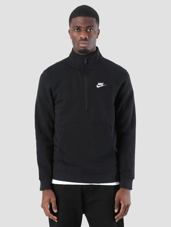 Nike NSW Sweater Black Black Black White 929452-010