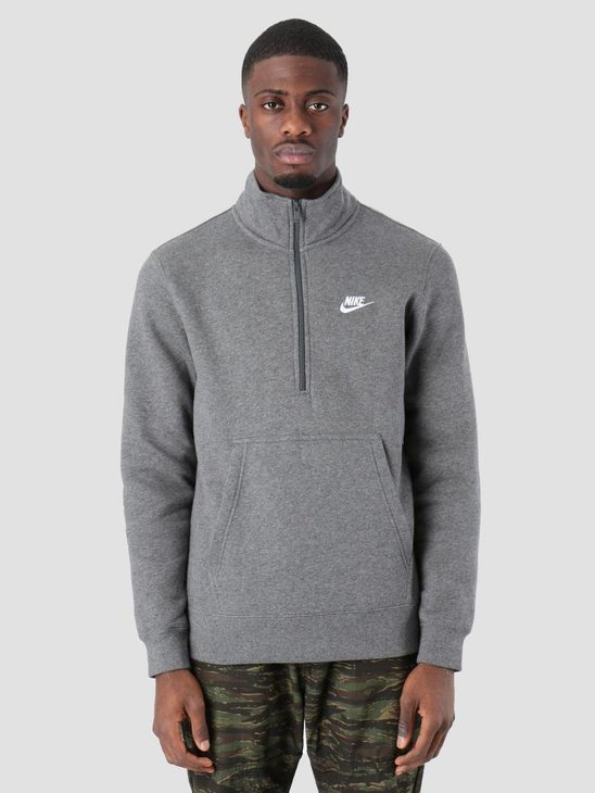 Nike NSW Sweater Charcoal Heathr Charcoal Heathr White 929452-071